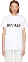 Hood by Air White hustler T-shirt