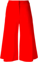 Jonathan Simkhai wide-legged cropped trousers - women - Polyester/Spandex/Elastane/Acetate/Viscose - 6