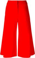 Jonathan Simkhai wide-legged cropped trousers