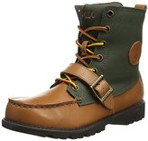 Polo Ralph Lauren Ranger Hi II Leather Lace-Up Boot (Little Kid/Big Kid)