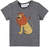 Mini Rodini Lion-Print Organic-Cotton-Blend T-Shirt