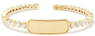 Jade Trau - Catherine Diamond & 18kt Gold Cuff - Yellow Gold