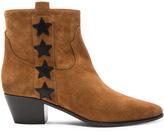 Saint Laurent Rock Suede & Leather Boots
