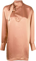 Valentino crepon blouse - women - Silk/Viscose - 38