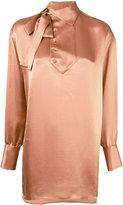 Valentino crepon blouse - women - Viscose/Silk - 38