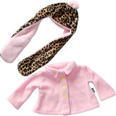 Dollie & Me Pink Coat Outfit for 18'' Doll