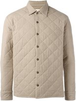 Simon Miller quilted shirt jacket - men - Cotton - S