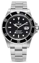Pre-owned Rolex Pre-Owned Rolex Stainless Steel Submariner Watch with Black Dial and Oyster Band, 40mm