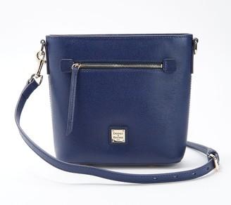 Dooney & Bourke Leather Saffiano Small Zip Crossbody