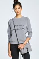 Rebecca Minkoff Crewneck Sweatshirt Less War