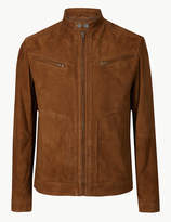M&S CollectionMarks and Spencer Suede Biker Jacket