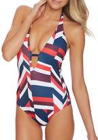 Nautica Royal Voyage Soft Cup Halter One-Piece Swimsuit