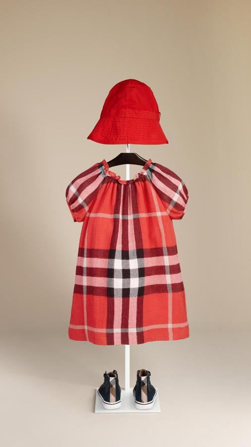 Burberry Check Smock Dress