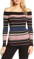 Cupcakes And Cashmere Women's Nadria Off The Shoulder Sweater