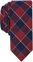Original Penguin Men's Trotter Plaid Skinny Tie