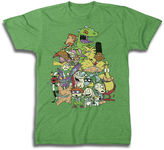 JCPenney Novelty T-Shirts Nickelodeon Group Graphic Tee