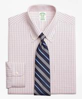 Brooks Brothers Non-Iron Milano Fit Micro-Tattersall Dress Shirt