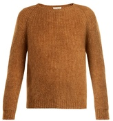 Masscob Round-neck raglan-sleeve mohair-blend sweater
