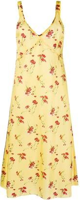 R 13 Floral Print Dress