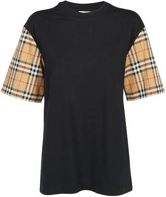 Burberry Vintage Check Sleeve T-Shirt