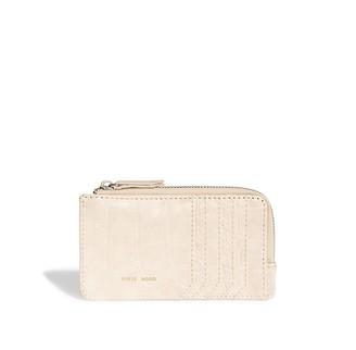 Pixie Mood Quin Card Wallet White Croc