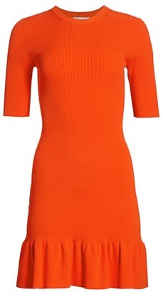 A.L.C. Vance Quarter-Sleeve Bodycon Dress