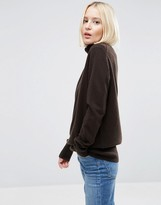 Asos 100% Cashmere Roll Neck Sweater