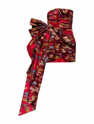 Oscar de la Renta 2020 Mini Dress w/ Tags Red