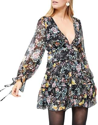 Free People Closer To The Heart Tiered Floral Dress