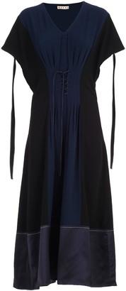 Marni Dress W/s Crepe Satin