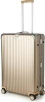 Rimowa Topas four-wheel titanium suitcase 81cm