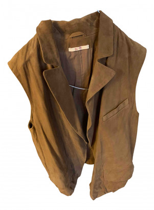 Bel Air Camel Leather Jackets