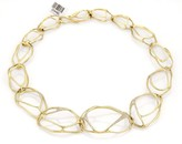 Ippolita Drizzle 18K Yellow Gold & 1.65ct Diamond Open Link Necklace