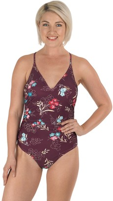 Carole Hochman Crochet Back One-Piece Swimsuit