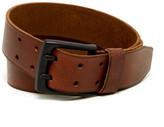 Andrew Marc Gridlock Leather Belt