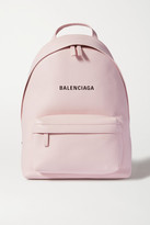 Balenciaga Everyday Printed Leather Backpack - Pink