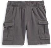 Tea Collection Infant Boy's Knit Cargo Shorts