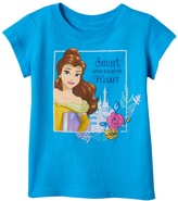 "Disney Disney's Beauty & The Beast Belle Toddler Girl ""Smart And Kind Of Heart"" Tee"