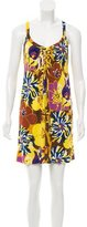 Tibi Floral Print Shift Dress
