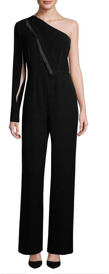 Yigal Azrouel Women's One-Shoulder Cut Out Jumpsuit