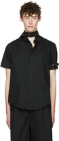 Craig Green Black Cotton Short Sleeve Shirt