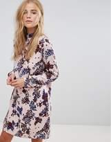 Vila Floral Print Shift Dress