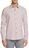 Michael Bastian Mini Check Regular Fit Button-Down Shirt
