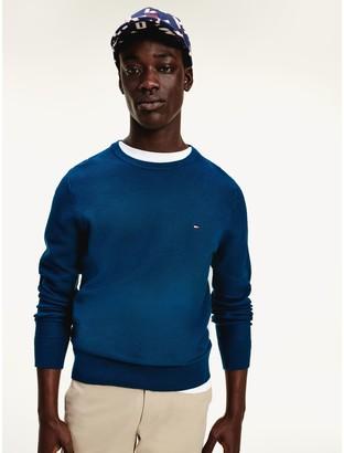 Tommy Hilfiger Organic Cotton Crewneck Sweater