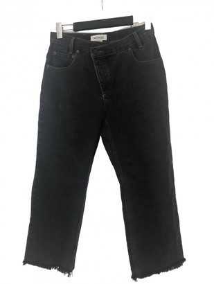 Monse Black Cotton Jeans
