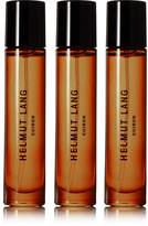 Helmut Lang Cuiron Eau De Cologne - Italian Bergamot, Italian Mandarin Oil & Pink Peppercorn, 3 X 10ml