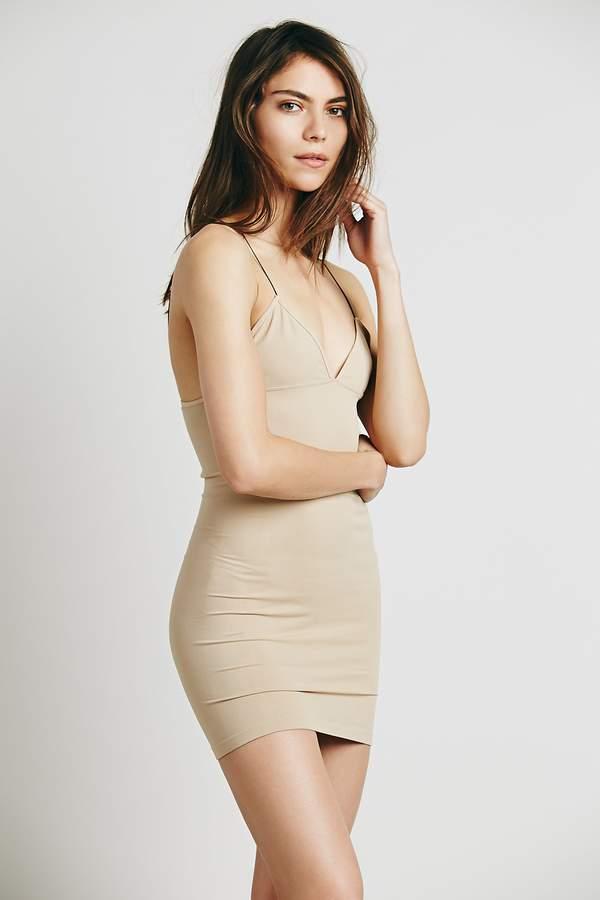 afe2a6b534de Nude Thin Strap Dress - ShopStyle