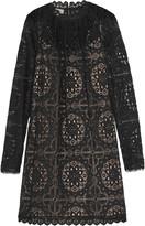 Temperley London Nomi crocheted lace mini dress