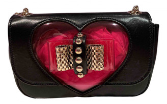 Christian Louboutin Sweet Charity Black Leather Clutch bags