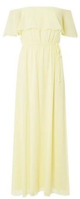 Dorothy Perkins Womens **Showcase Lemon 'Siena' Maxi Dress